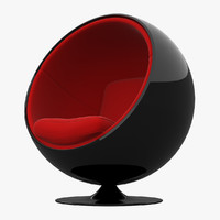 Ball Chair Black