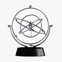 3d kinetic perpetual motion toys model
