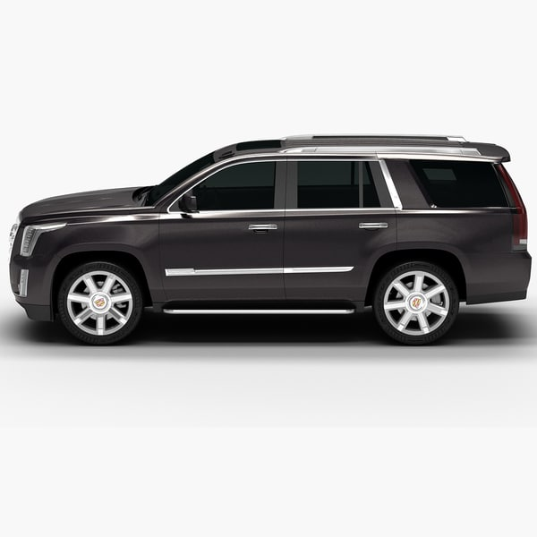 Cadillac Escalade 2015 Used: 2015 Cadillac Escalade Interior 3d 3ds