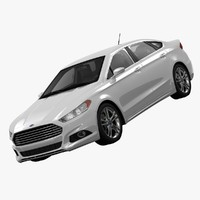 3ds max fusion titanium awd sedan