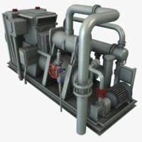 3ds max compressor polys udk
