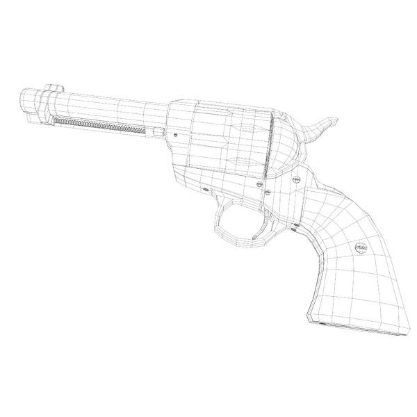 3d Colt Peacemaker 38 40 Model