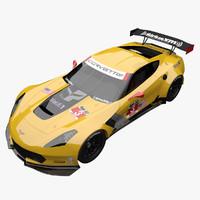 3d max corvette c7