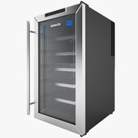 3d wine cooler newair