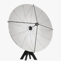 antenna satellite 3d model
