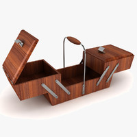 dxf expandable sewing box