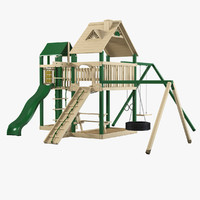 3d playground play model