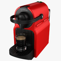 coffeemaker nespresso inissia krups 3d 3ds