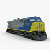CW60AC Locomotive