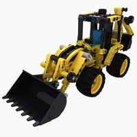 Lego Back Hoe 42004