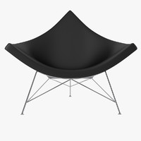 vitra nelson coconut chair 3ds