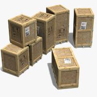crates 3d max