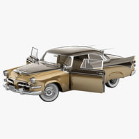 Dodge Royal Golden Lancer 1956 Rigged