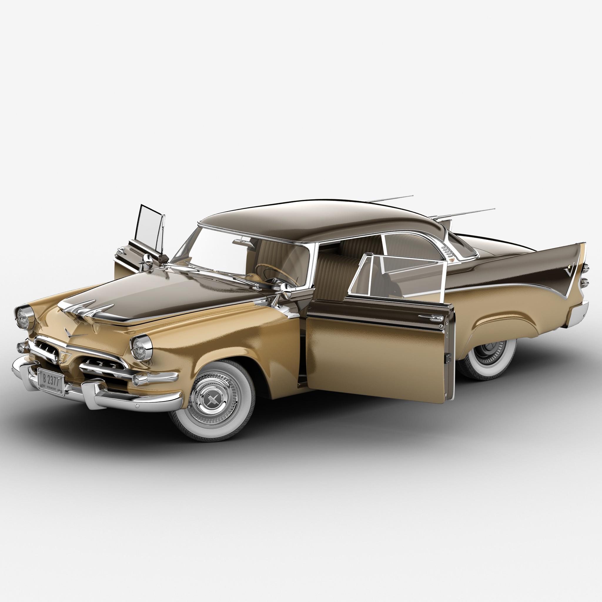 Dodge Royal Golden Lancer 1956 Rigged_2.jpg