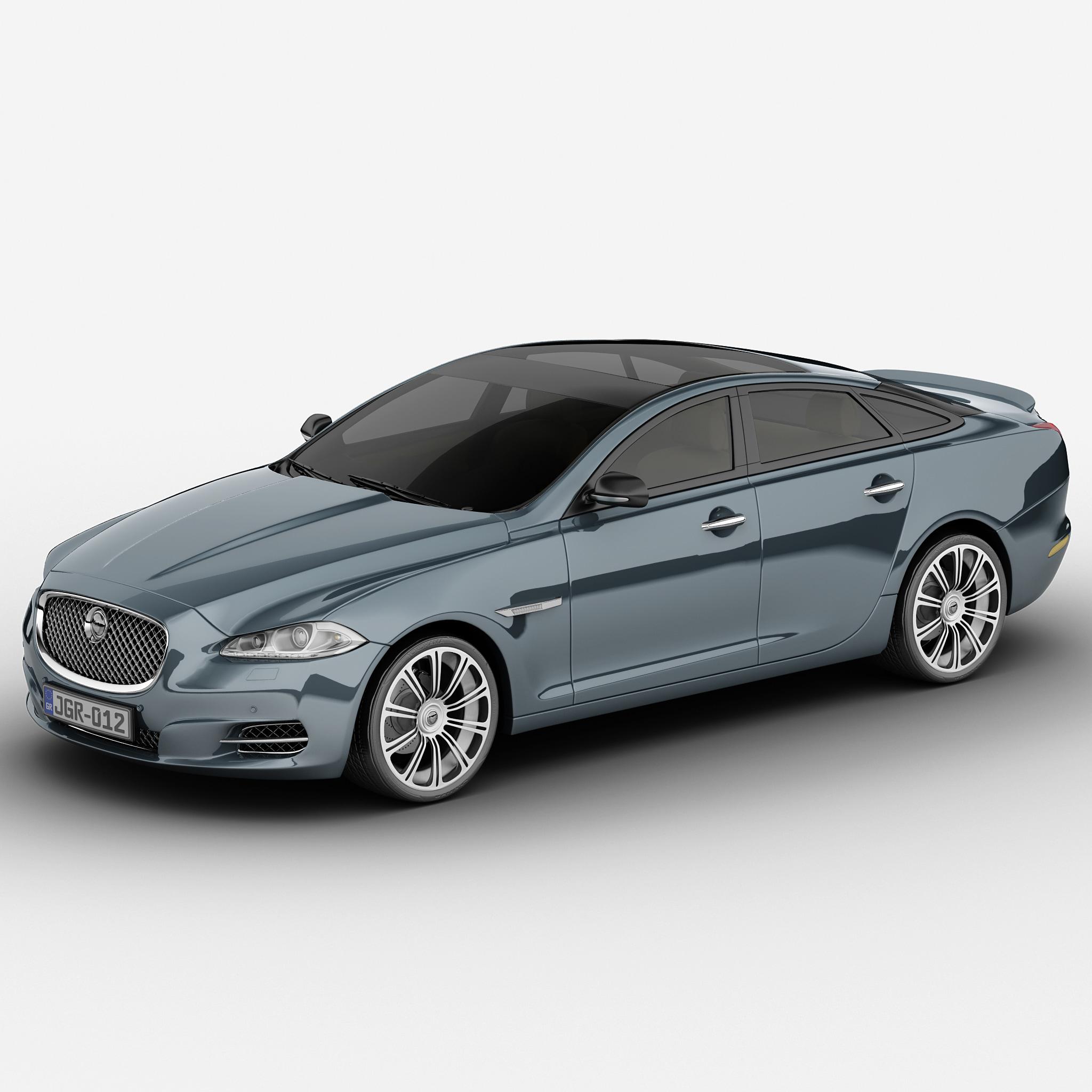 Jaguar Auto: 3d Xj Car