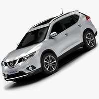2014 Nissan X-Trail (Low Interior)