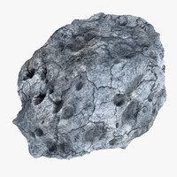 modeled asteroid 3d model