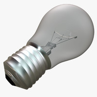 light bulb lightbulb 3d c4d