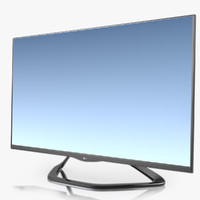 3d model tv lg 42la660v
