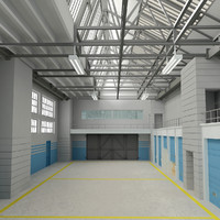 3ds max architectural warehouse