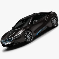 2015 BMW i8 (Low Interior)