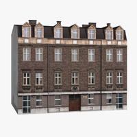 3d model old building 02