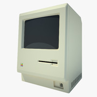 3d apple macintosh1984 monitor