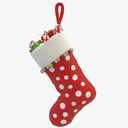 Christmas Stocking 3D models