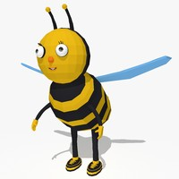dxf cartoon bee