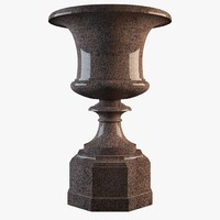 classic vase 3d max