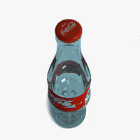 3d coca cola bottle cap