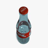 3d coca cola bottle cap
