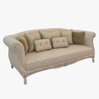 sofa savio firmino 3d obj