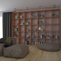 3ds max modern interior