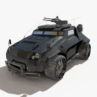 dystopia defiants light assault 3d model