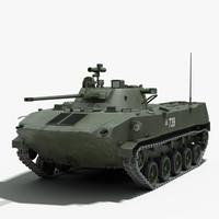 russian bmd 2 3d model