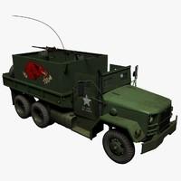 3d gun truck m35