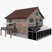 3d house dora model