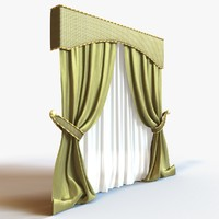 max curtain modeled fabric