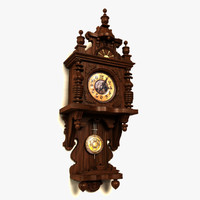 max antique grandmother clock