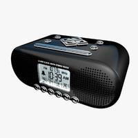 max generic alarm clock fm