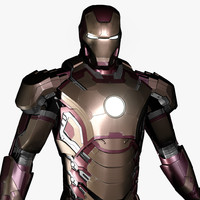ironman mark 42 3d model