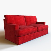 3d sofa modeled