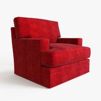 3d armchair modeled