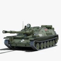 soviet asu 85 3d model