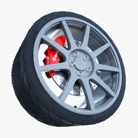 3d sport carbon fiber wheel tire