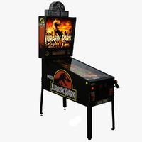 Pinball Machine : Jurassic Park
