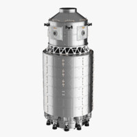 space module 3d model