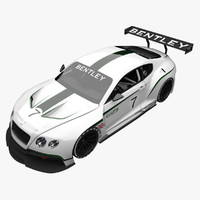 bentley continental gt3 obj