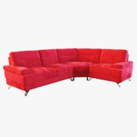 3d nova corner sofa